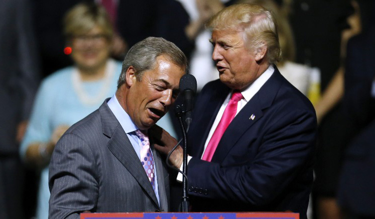 trump farage