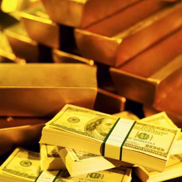 zlato, valute